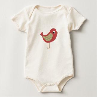 Body Para Bebê Roupa da imagem do pássaro