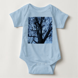 Body Para Bebê Roupa do bebê da fotografia da silhueta da árvore