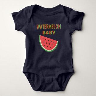 Body Para Bebê Roupa do bebê da melancia