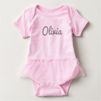 Body Para Bebê Roupa do bebê de Olivia