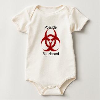 Body Para Bebê Roupa do bebê do Bio-Perigo