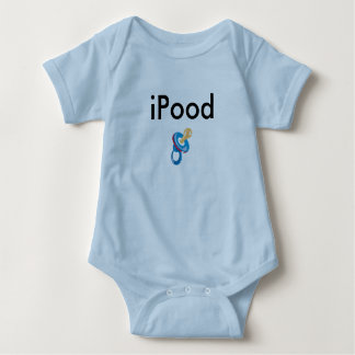 Body Para Bebê roupa do bebê do iPood