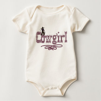 Body Para Bebê Roupa do bebê e da criança da vaqueira