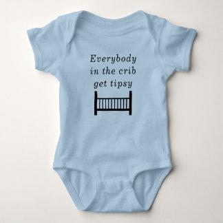 Body Para Bebê Roupa do divertimento para suas pequenas