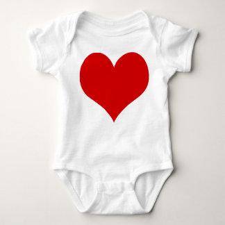 Body Para Bebê roupa do terno do bebê do coração