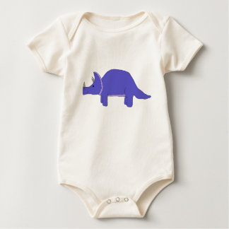 Body Para Bebê Roupa do Triceratops