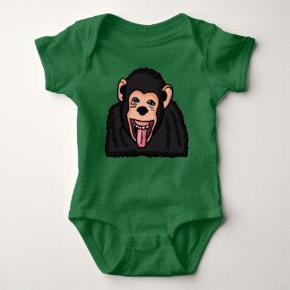 Body Para Bebê Roupa engraçada do macaco