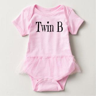 Body Para Bebê Roupa gêmea do bebê - equipamento gêmeo de B de