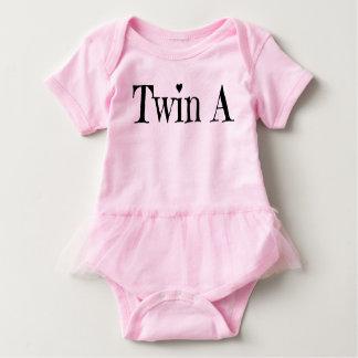 Body Para Bebê Roupa gêmea do bebê - junte um equipamento
