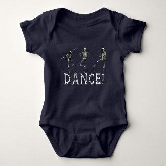 Body Para Bebê Roupa macabramente do bebê de Danse