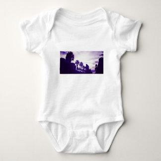 Body Para Bebê Roxo de San Diego