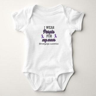 Body Para Bebê Roxo para minha mamã