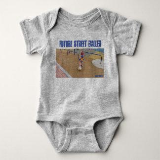 Body Para Bebê Rua futura Baller