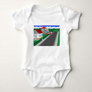 Body Para Bebê Ruas e construção de casa