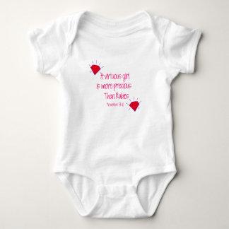 Body Para Bebê rubis