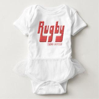 Body Para Bebê Rúgbi vida estilo