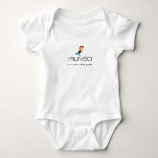 Body Para Bebê Ruína para a saúde e a malhação