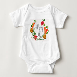 Body Para Bebê RVA vão design fresco da fazenda local do
