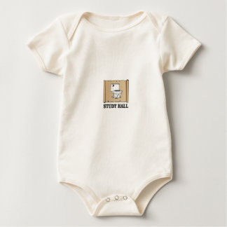 Body Para Bebê salão de estudo do banheiro