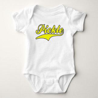 Body Para Bebê Salmoura (amarelo/azul)