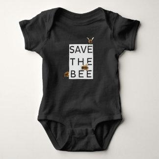 Body Para Bebê Salvar a abelha! Salvar o mundo! Abelha