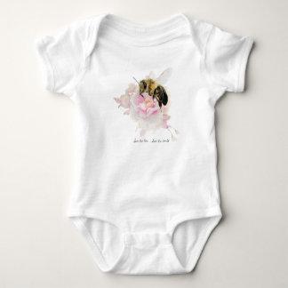 Body Para Bebê Salvar a abelha! Salvar o mundo! Abelha bonito
