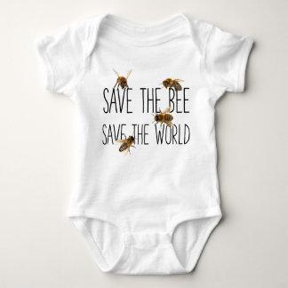 Body Para Bebê Salvar a abelha! Salvar o mundo! Vive o design