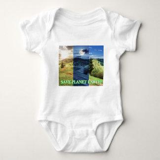 Body Para Bebê Salvar a terra do planeta