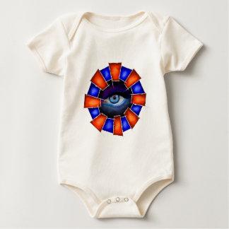 Body Para Bebê Salvenitus - olho de observação