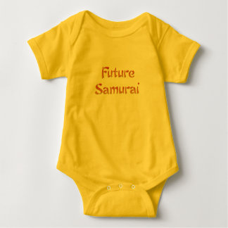 Body Para Bebê Samurai futuro