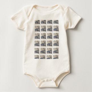 Body Para Bebê San Diego, teste padrão do design do amor de CA