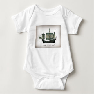 Body Para Bebê Santa Maria 1492 por Tony Fernandes