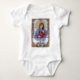 Body Para Bebê Santo Maria na igreja Católica