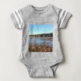 Body Para Bebê Santuário de pássaro do lago sams