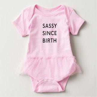 Body Para Bebê Sassy desde o nascimento