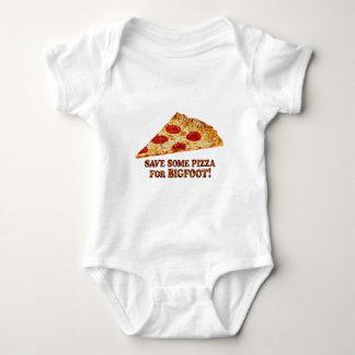 Body Para Bebê Save_Pizza_for BIGFOOT - Multi-Roupa