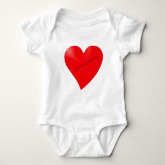 Body Para Bebê Scarred coração de cicatriz heart