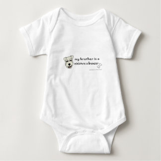 Body Para Bebê schnauzer diminuto