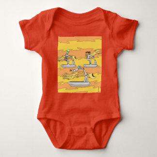 Body Para Bebê Scootering com os cavaleiros do vento