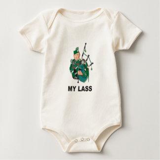Body Para Bebê scott com bagpipe