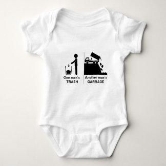 Body Para Bebê Se equipa o lixo