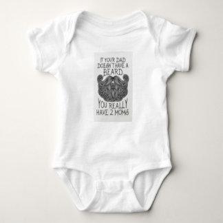 Body Para Bebê Se seu pai não tem uma barba Onsie