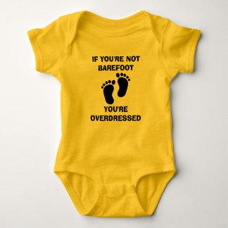 Body Para Bebê SE VOCÊ não é DESCALÇO VOCÊ é LIGAÇÃO EM PONTE