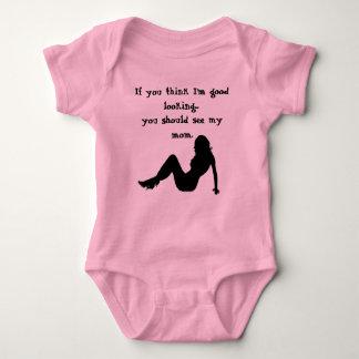 Body Para Bebê Se você pensa que eu sou bonito…