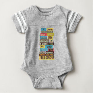 Body Para Bebê se você pode ler este então eu manged ao texto e