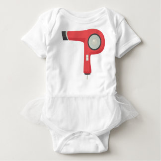 Body Para Bebê Secador de cabelo