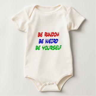 Body Para Bebê Seja aleatório seja estranho seja você mesmo