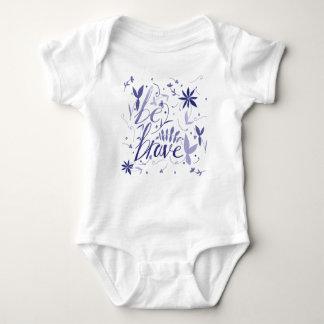 Body Para Bebê Seja azul bravo