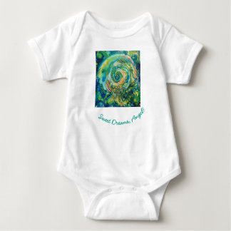 Body Para Bebê Seja o milagre - anjo dos sonhos doces!