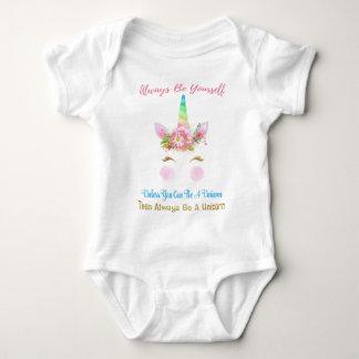 Body Para Bebê Seja sempre um unicórnio